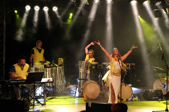 Dudu Tucci and Brasil Power Drums