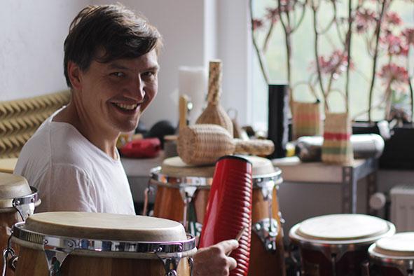 Tino Vetter, Percussionist aus Berlin