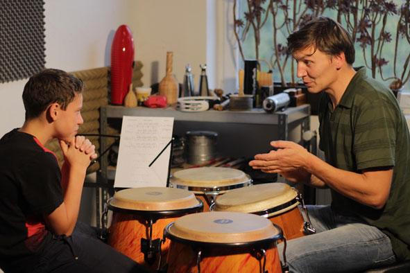 Trommelunterricht für Kinder