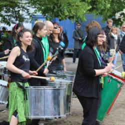 trommeln lernen in Berlin im Samba Trommelkurs