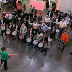 Team Event Berlin als Trommel-Ensemble erleben